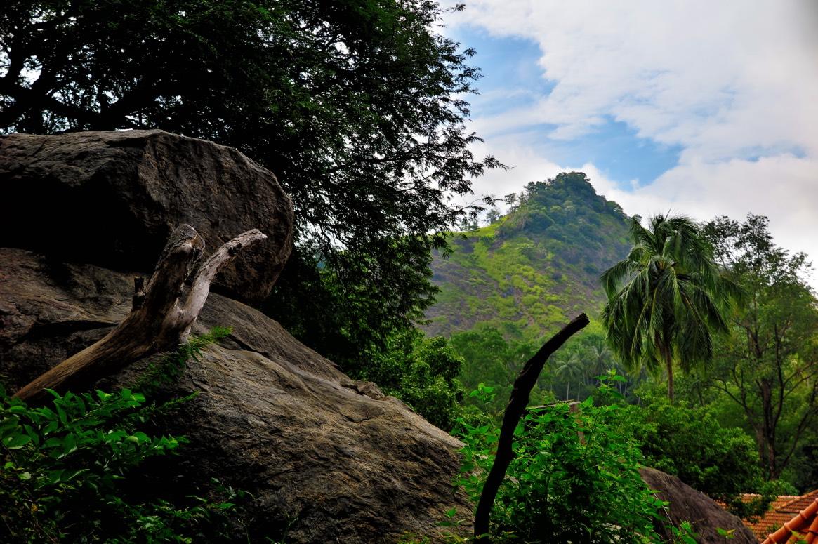Ausblick vom Felsentempel, Dambulla