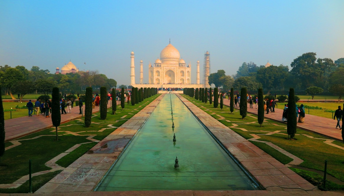 Agra – Das atemberaubende Taj Mahal